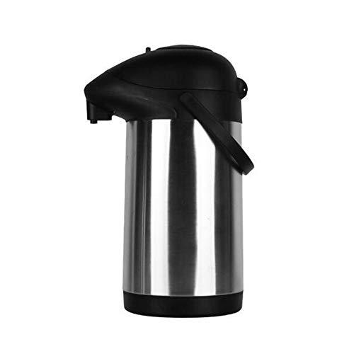 Dispensador De Bomba Airpot Jarra para Café, Termo Aislamiento, 304 De Acero Inoxidable De Doble Pared Vacío para Jugo/Leche / Té,4.0L