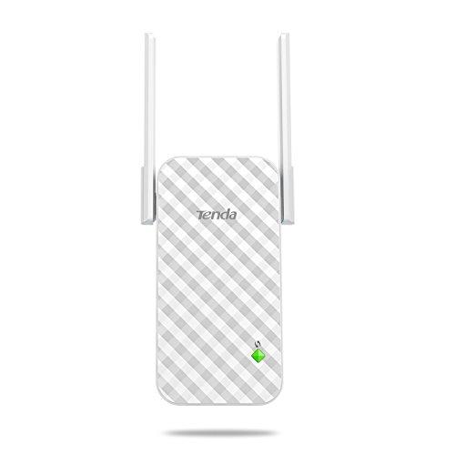 Tenda N300 A9 Wireless Repetidor Extensor de Red WiFi Inalámbrico Ampliardor WiFi 300 Mbps con Antenas Duales para Casa Grande Officina SOHO Sitios de Negocios Pequeños