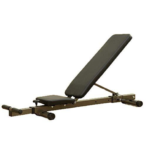 ZLBZBB Verstellbarer Fitness-Stuhl, flach liegendes Multifunktions-Rücken-Yoga-Brett, Fitness-Stuhl, Fitnessgeräte, zusätzliche Sportgeräte (Standard-prozess-labs)