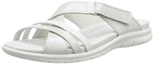 ECCO Babett Sandal Sandali Aperti, Donna, Bianco(White/White 50874), 39