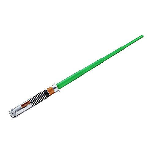 Hasbro C1289ES0 Star Wars Episode 8 Basislichtschwert LUKE SKYWALKER, Jungen, grau, one size