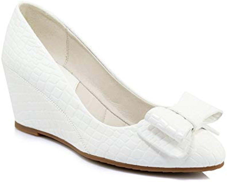 BalaMasa APL10861, Plateforme 36.5 Femme - Blanc - Blanc, 36.5 Plateforme EUB07H1XF5NDParent bcaba1
