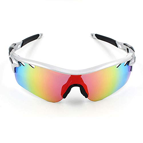 Goggles MXLTiandao Polarisierte Sport-Sonnenbrille Motorrad-Brille Lenes für Männer Frauen Radfahren Laufen Fahren (Color : 11, Size : One Size)