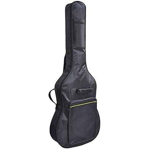 DoubleBlack Funda Acolchada Para Guitarras Acolchada Negro