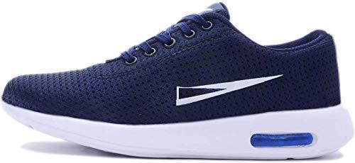 Softdeal International Men\'s Sports Shoes/Running Shoes (8, Blue)