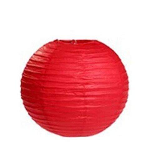 6/pcs Corail Lampion Rond 20,3/cm lampe Nuances pour mariage anniversaire D/écoration de f/ête de mariage