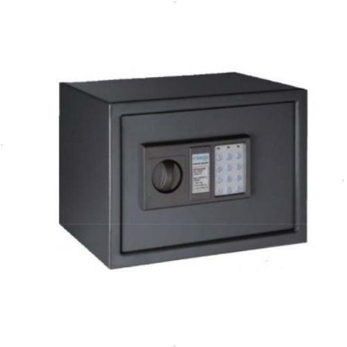 Arregui T25EB Caja fuerte de sobreponer electrónica 350 x 250 x 250 mm, Gris oscuro