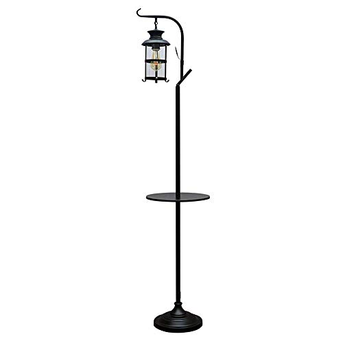 Lámpara de Queroseno Americana Sala de Estar Balcón Lámpara de pie Dormitorio...