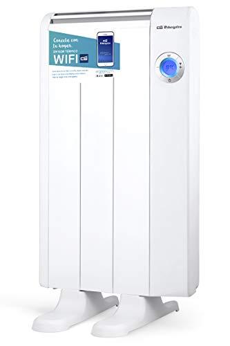 Orbegozo RRW 600 - Emisor térmico bajo consumo Wi-Fi, 600 W, pantalla digital LCD, programable, conexión...