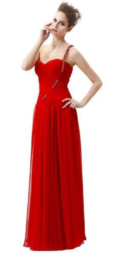HBH Hamburger Brautmoden Abendkleid UE12275 Rot Rot