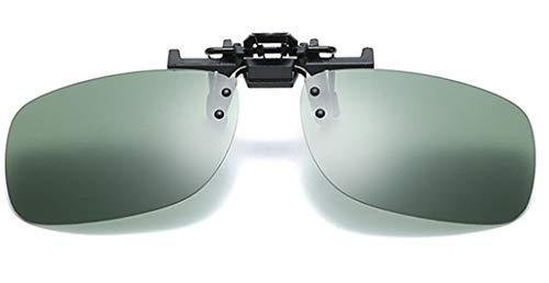 Sonnenbrillen-Clip auf Flip Up Neutrale Eleganzpolarisierte Linse, Unisex-Sonnenbrille Lens Clip für Myopia Glasse/Outdoor/Driving