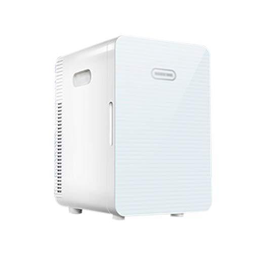 Mini Kühlschrank Elektrische Kühlbox 12V 220V tragbar und leise für Auto und Zuhause 20L Tragbarer Kühlschrank Kühl und Warm Auto Kühlschrank für Reisen und Camping