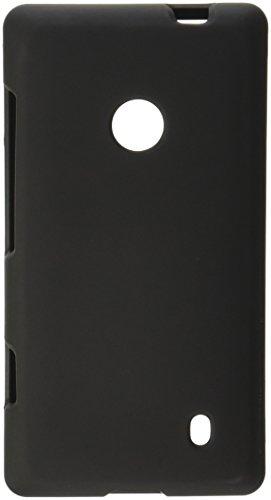 Beyond Cell Schutzhülle T-Mobile Nokia Lumia 521, gummiert, inkl. Displayschutzfolie, Schwarz T-mobile Nokia