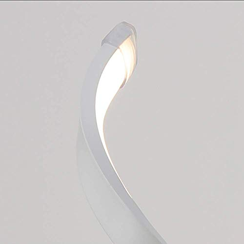 Evin Postmodern minimalistische kreative Kunst Wohnzimmer-Lampe Acryl-Lampe Aluminium Nachttischlampe Schlafzimmer Dekoration Tischlampe