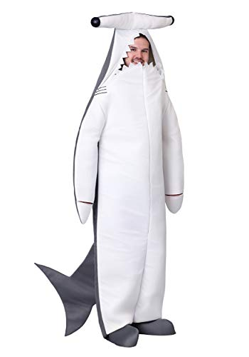 Adult Hammerhead Shark Fancy Dress Costume X-Large (Shark Fancy Dress Kostüm)