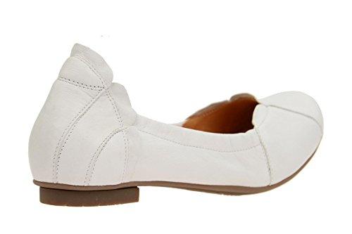 Think! Damen Balla Geschlossene Ballerinas Weiß