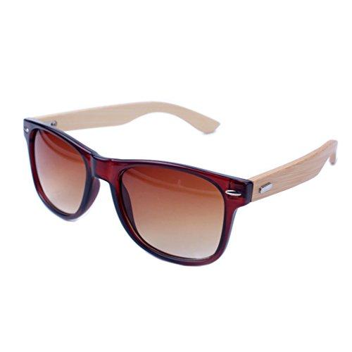Tansle - Gafas de sol - para niño Marrón Brown/Brown