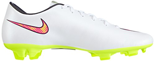 Nike Mercurial Victory V Fg, Football Entrainement Homme Blanc (White/Volt/Hyper Pink/Black 170)