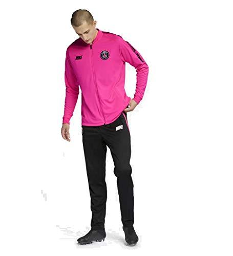 b7254c693d199 Nike PSG M NK Dry SQD TRK Suit K Survêtement Homme, Hyper Pink Black,