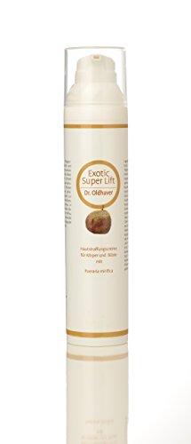 Dr. Oldhaver Exotic Super Lift Creme - Creme zur Straffung von Haut und Brust mit der Thailändischen Pueraria Mirifica | Für einen schönen, vollen Busen | Straffungscreme mit Kokosöl und Zimtöl (100ml)