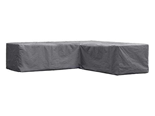 Perel Garden OCLSL215 Schutzhülle Für L-Förmiges Lounge-Set-215 cm, Schwarz, 215 x 215 x 70 cm