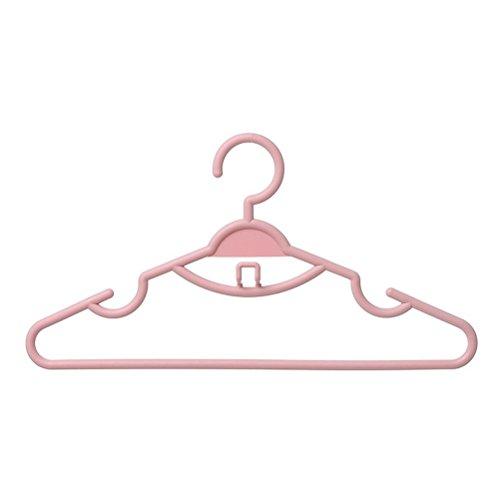 Dbtxwd appendiabiti in plastica asciutto secco ea secco a duplice uso drying home negozio di abbigliamento stendini 40 * 21 cm , c , 10