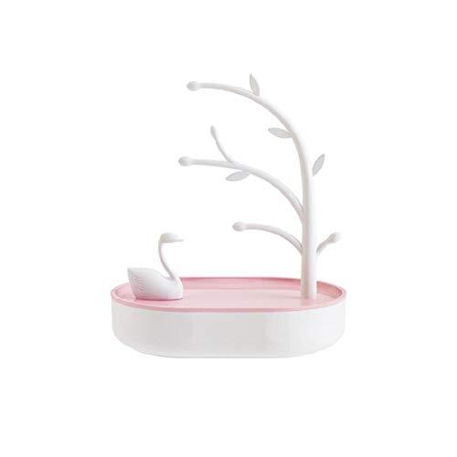Rich-home Schmuckständer Kettenständer Baum Armbandständer Ohrringhalter Mit Aufbewahrungsbox