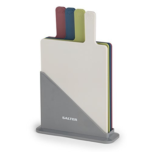 Salter BW04768Schneidebrett-Set, mehrfarbig, 4-teilig