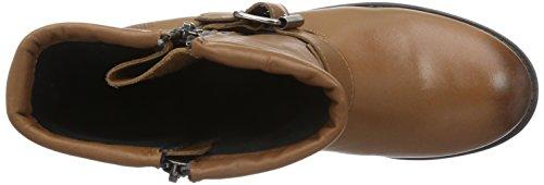 Shoot SH215060J Damen Biker Boots Braun (Cognac)