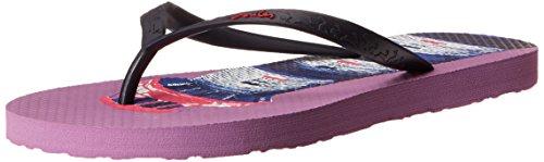 Joules Ladies Sandy Print Patterned Rubber Flip Flop Sandals