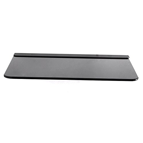 31wLcU pvtL. SS500  - NBSilence® Ultra-Modern AV Wall Mounted Glass Shelf - Cantilever Swivel Arm - Used With All Types Of TV Brackets - For DVD, PS3, PS4, SKY Box, XBox, Blu Ray Player, Projectors Etc Max Support 11lbs Weight