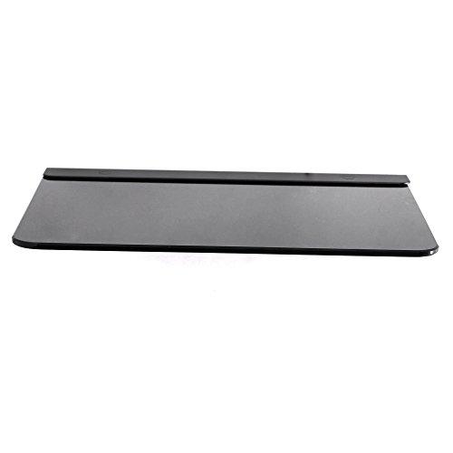 Ultra Moderne AV-Wandglasregal montiert - Gebraucht mit allen Arten von TV-Halterungen - für DVD, PS3, PS4, SKY Box, Xbox, Blu Ray Player, Projektoren usw. max Unterstützung 11 lbs Gewicht