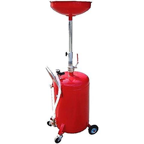 Estrattore di olio con serbatoio da 65 litri e tubo telescopico - Tubo Serbatoio Olio