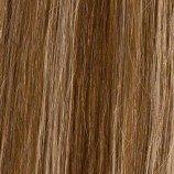 Halo 50,8 cm Marron chocolat Blond clair Mix Tête complète Extensions à clips