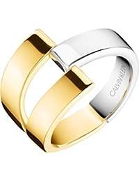 Calvin Klein Damen-Ring Truly Edelstahl (bicolor)