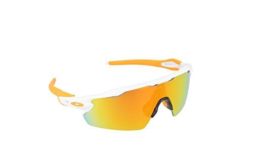 Oakley Herren Sonnenbrille Radar EV Weiß (Polished White), 1