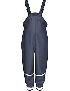 Playshoes Unisex Kinder Regenlatzhose, Matschhose, Buddelhose mit Textilfutter