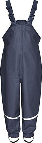 Playshoes Salopette Relax Garçon - Bleu - Bleu marine - FR : 24 mois (Taille fabricant : 92)