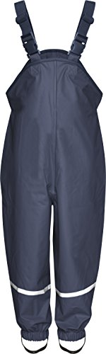 Playshoes Regenlatzhose Textilfutter 405514 Unisex - Kinder Hosen/ Lang, Gr. 80 Blau (marine 11)