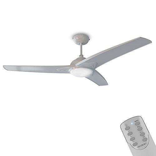 Cecotec Ventilador de Techo con luzForceSilence Aero 560 Mando a distancia, 132...