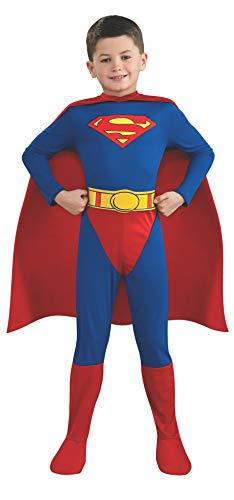 Kostüm Kind Superman - Rubie's Kinder-Kostüm-Set Superman, Größe 110/116