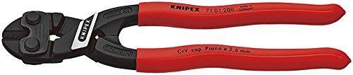 KNIPEX 71 01 200 CoBolt® Kompakt-Bolzenschneider schwarz atramentiert mit Kunststoff überzogen 200 mm