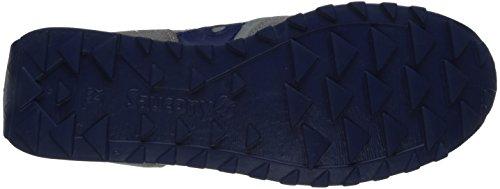 Saucony - Jazz Original - Chaussures de Cross - Femme Gry-Blu