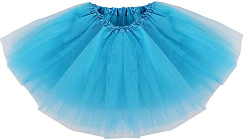 Ksnrang Gonna Tutu Donna-Adulto Classico Elastico 3 Strati Tutu Gonna in  Tulle per Vestito ... 2df1557b0c59