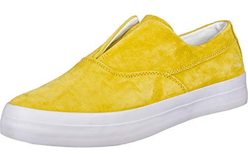 Huf Dylan Slip On Shoes - Yellow
