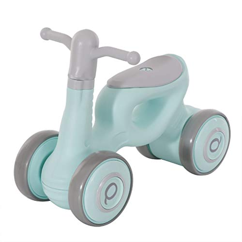 TCBIKE Super leichtes Baby-Balance Bikes, 4 räder kein Pedal Mini Baby Kleinkind Glide Bike Fahrrad Kinder Walker Spielzeug-fahrten 18 Monate-E