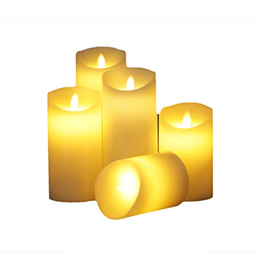LED-Kerze/elektronisches Kerzenlicht/zylinderförmige Schaukelsimulation/Haupthochzeitsdekoration / 10 * 30cm