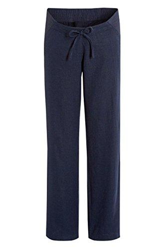 next Pantalon de maternité en lin Reg/Long Femme Bleu