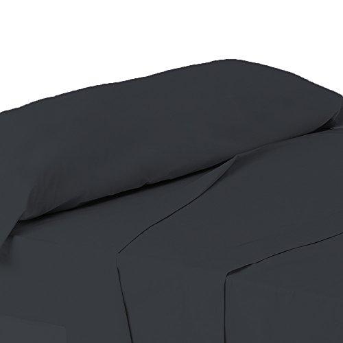 ForenTex - Juego de sábanas de 3 piezas, (L-4002), Azul Oscuro casi...