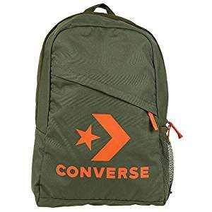 Converse Speed Backpack Rucksack Unisex Star Chevron Grün 10008091, Farbe:Grün -